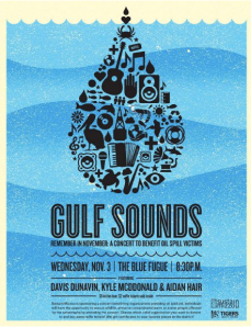 Gulf Sounds flier