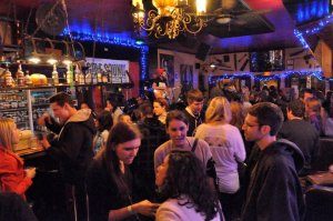 Crowd at the Blue Fugue