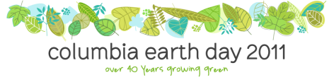 Columbia Earth Day banner