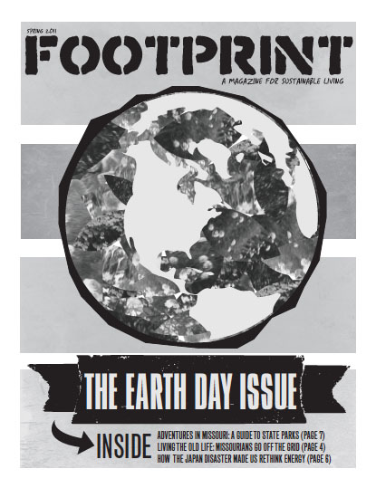 Cover of Earth Day 2011 edition of Footprint
