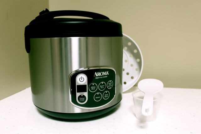 My second rice cooker - much bigger and fancier but less often used