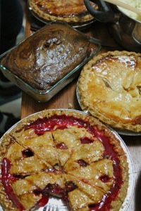Pies, pies, and more pies