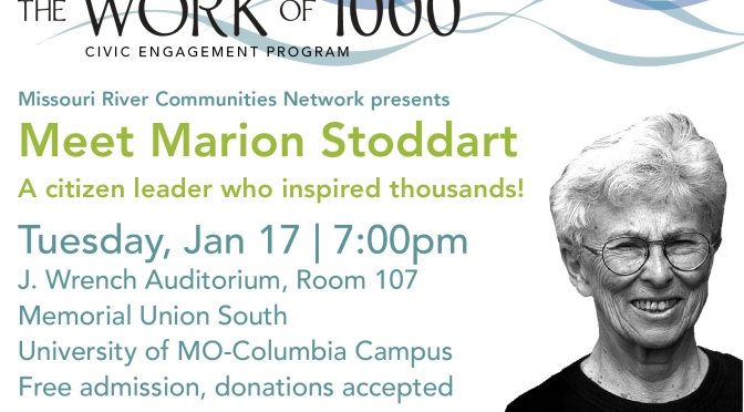 "Free Mizzou Event: See ""The Work of 1000"" and meet Marion Stoddart, the film's inspiration"