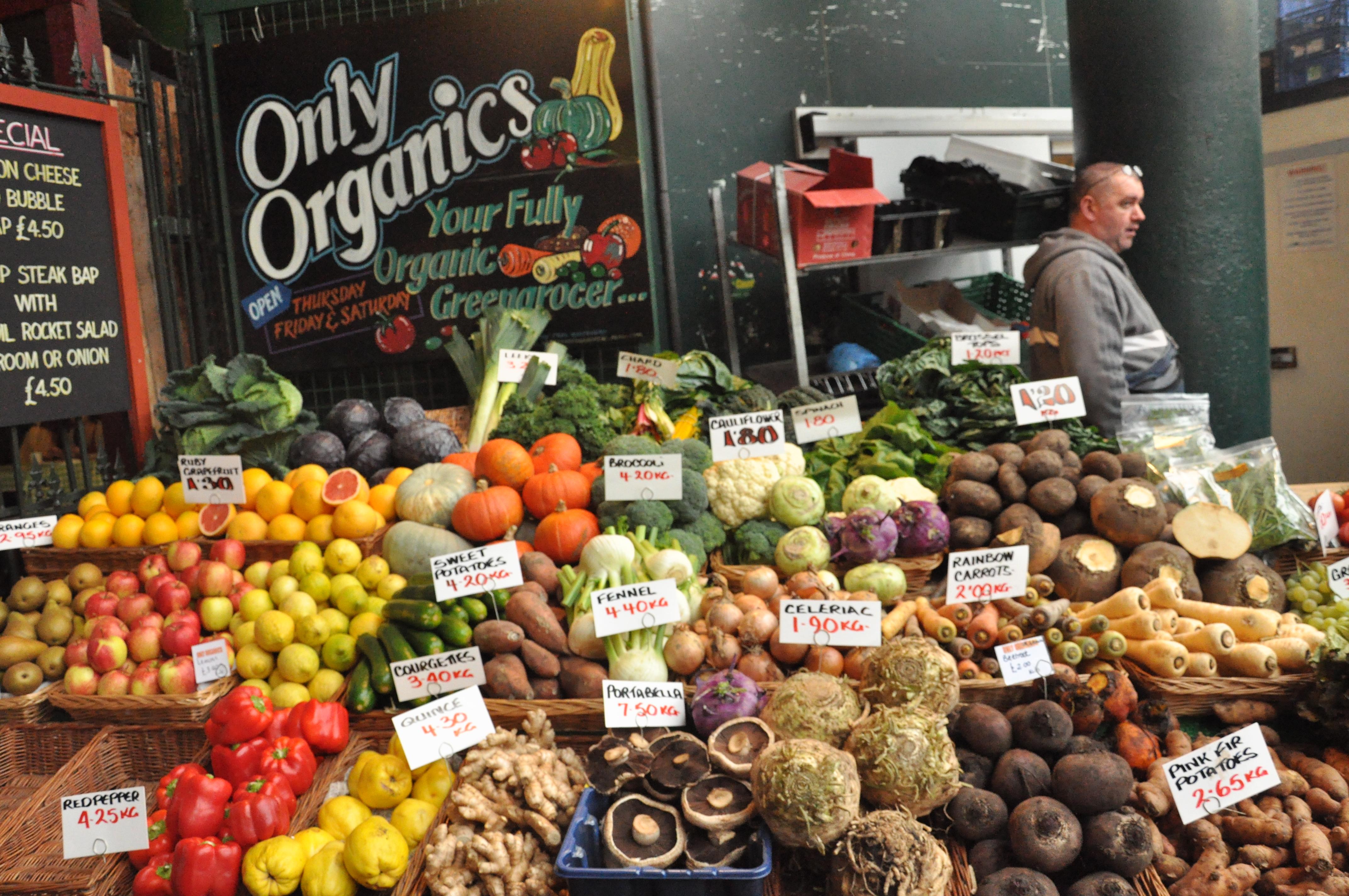 Organic market report us