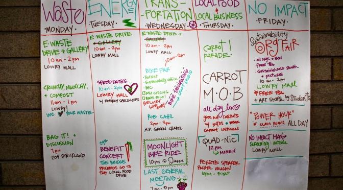 Sneak Peak: Sustainability Week