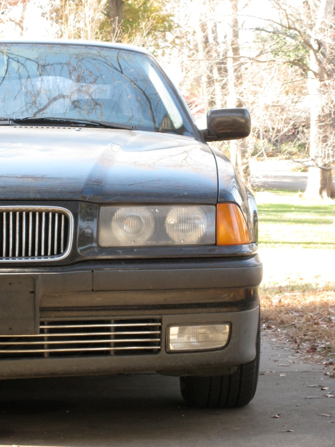 James' 1994 BMW with 213,000 miles.