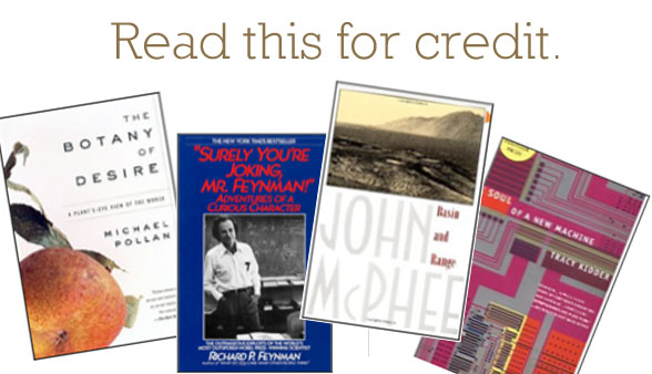 "New class: ""Readings 