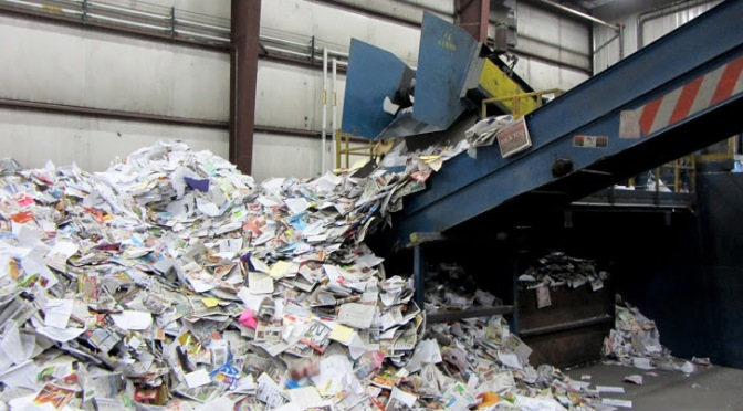 In Photos: Columbia's Recycling Facility